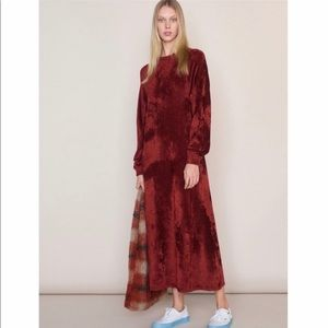 Elizabeth & James Lafayette Velvet Dress Size S